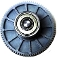 EG1-19 - R3392039/19 - Elco 1st gear with 19 mm bearing. Large flange D=42 mm; Plastic gear D=16 mm.