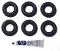 NM02.028 Saeco O-rings 2015 6-pack with lube. Same as 140328061; 140328161.