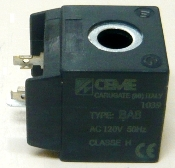 CEME220W - solenoid coil (40 x 33 x 35 mm) 220V