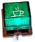 186075085 - 996530026152 Saeco lighted Green Coffee Switch for Via Veneto