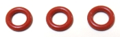 NM01.057-996530059419. O Ring 02021 Red Silicone Set of 3