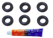 Jura Pressure Hose O-Rings Pack of 6 with Food Grade Lube