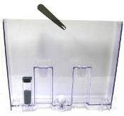 222693300 996530028039 Gaggia Titanium Water Tank with valve and level float.