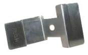 2266 Crathco Push Type Stainless Steel Handle