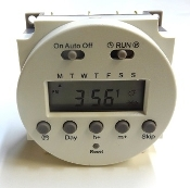 90132 SPM Defrost timer with screen