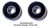 Elco Rotor Bearing set 626+608 28 x 12 x 8 mm