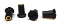 Ugolini Rear Cover fixing screw (set of 4) BLACK