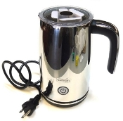 Caffitaly milk frother in Silver