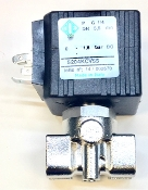 "B.2.020 2-way Solenoid valve with ODE coil 24V DC 5.5 mm Orifice 1/4""FF"