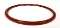 COFRIMELL, ELMECO O-RING 04287 SILICONE RED