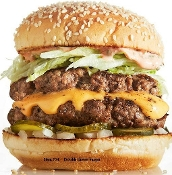 Double Cheese Burger Item #34