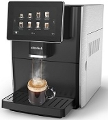 "ONETOUCH ESPRESSO MACHINE WITH 7"" WIDE TOUCH SCREEN FOR DIRECT PROGRAMMING"