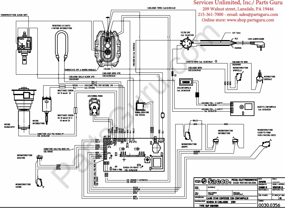 gaggia syncrony logic j boiler non rs wiring diagram Colosseum Diagram