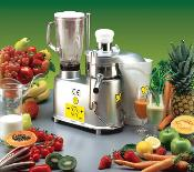 Vulcano - Fruit, Veg. Juicer & Blender 120 UL & NSF listed.